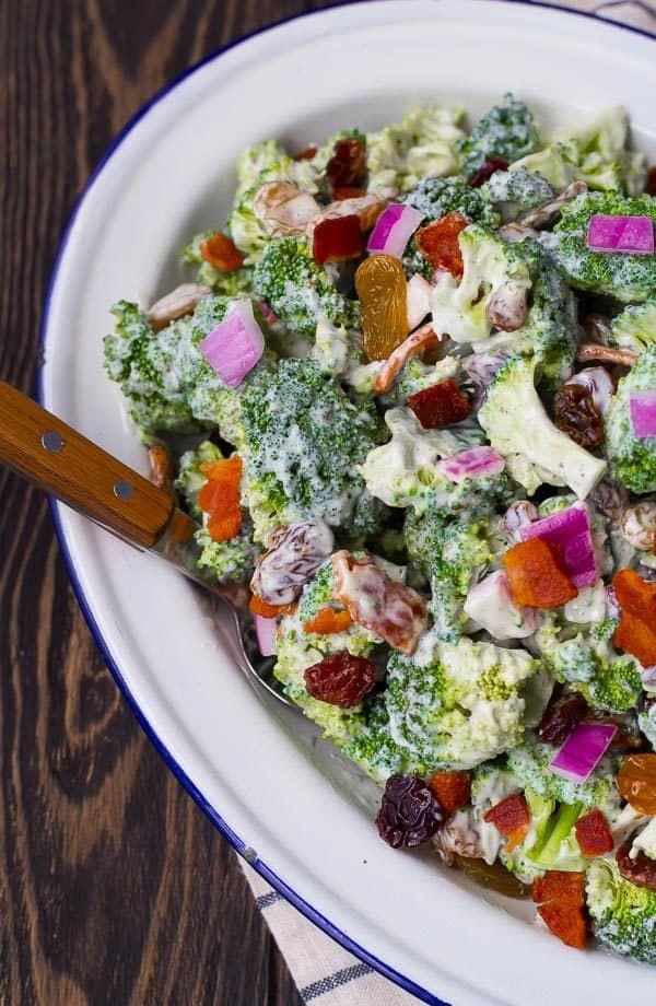 Healthy Broccoli Salad Recipe  Healthy Broccoli Salad Recipe Rachel Cooks