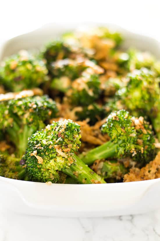 Healthy Broccoli Side Dishes  Quick Panko and Parmesan Broccoli
