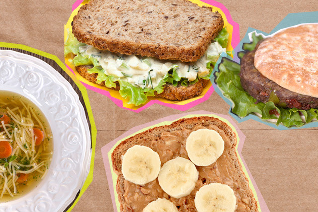 Healthy Brown Bag Lunches  12 Healthy Brown Bag Lunches