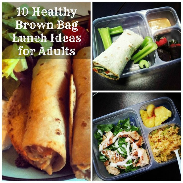 Healthy Brown Bag Lunches  10 Healthy Brown Bag Lunch Ideas for Adults