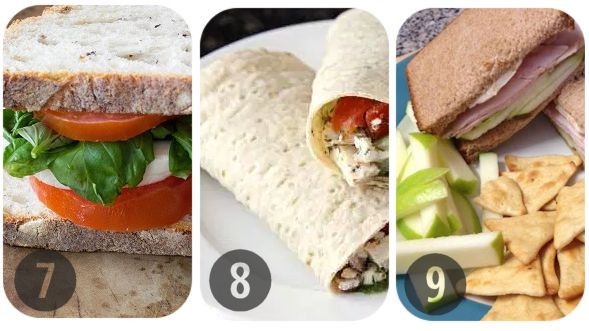 Healthy Brown Bag Lunches  13 Healthy Brown Bag Lunch Ideas