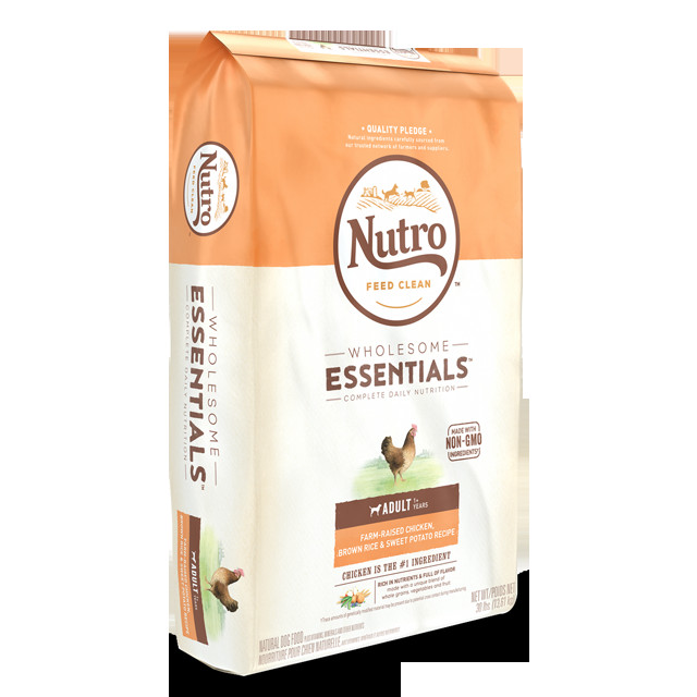 Healthy Brown Rice Brands  NUTRO™ WHOLESOME ESSENTIALS™ Adult Farm Raised Chicken