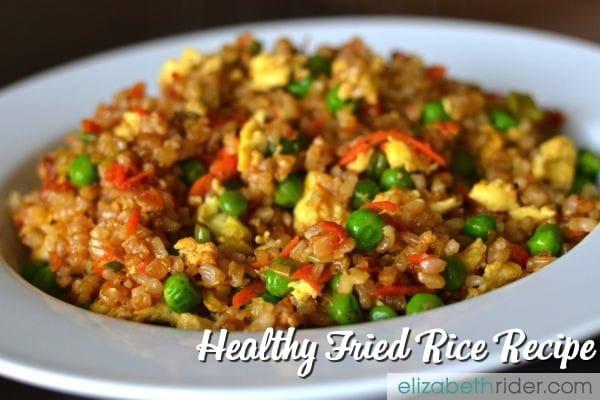 Healthy Brown Rice Recipes  Healthy Fried Rice Recipe ElizabethRider