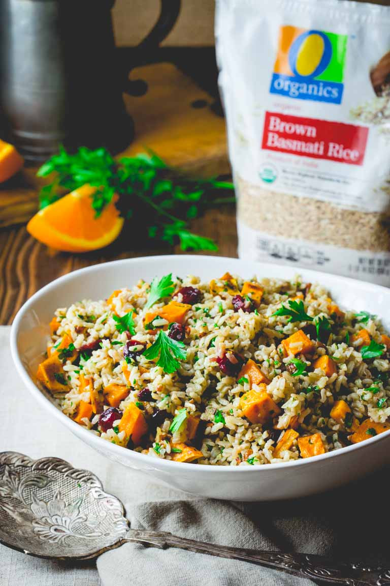 Healthy Brown Rice Side Dish Recipes  brown rice and sweet potato salad Healthy Seasonal Recipes