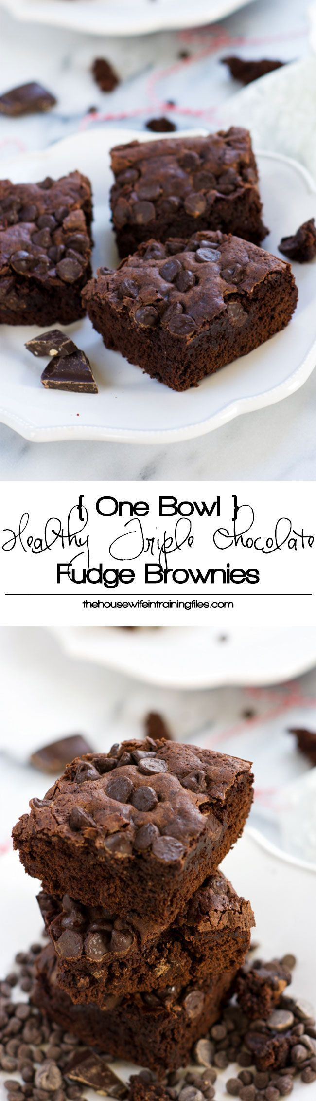 Healthy Brownies From Scratch  BHG s Best Healthy Recipes a collection of Food and drink