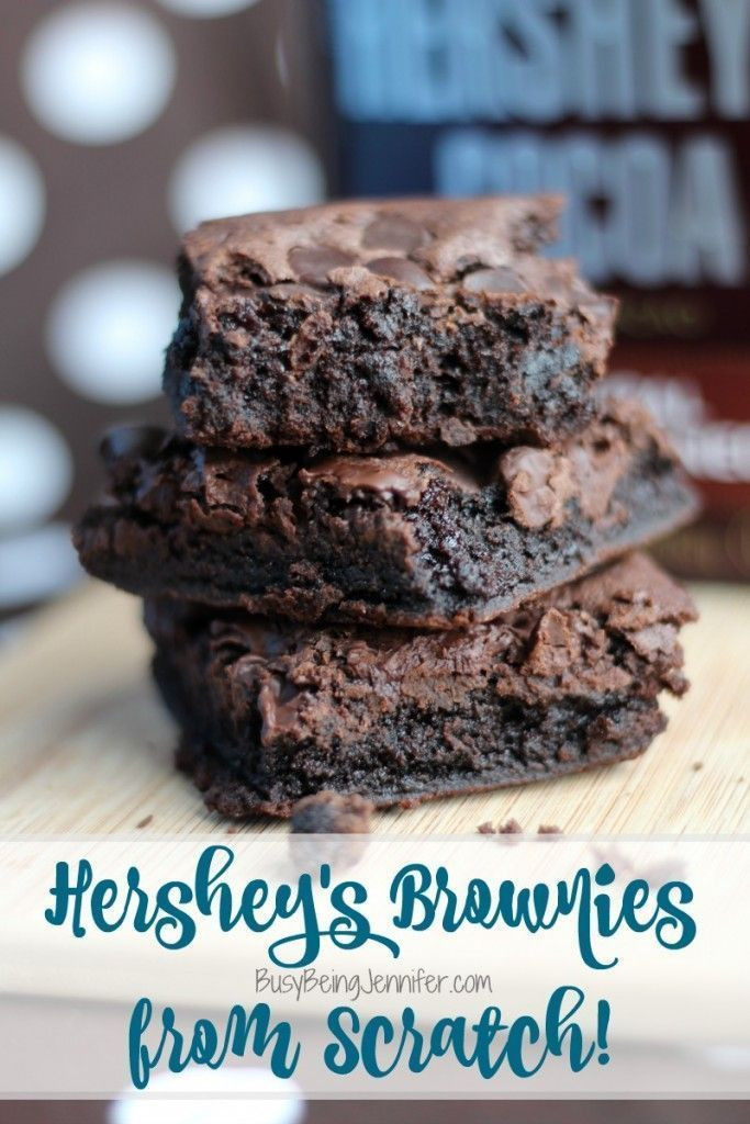 Healthy Brownies From Scratch  Delicious Hershey s Brownies from Scratch