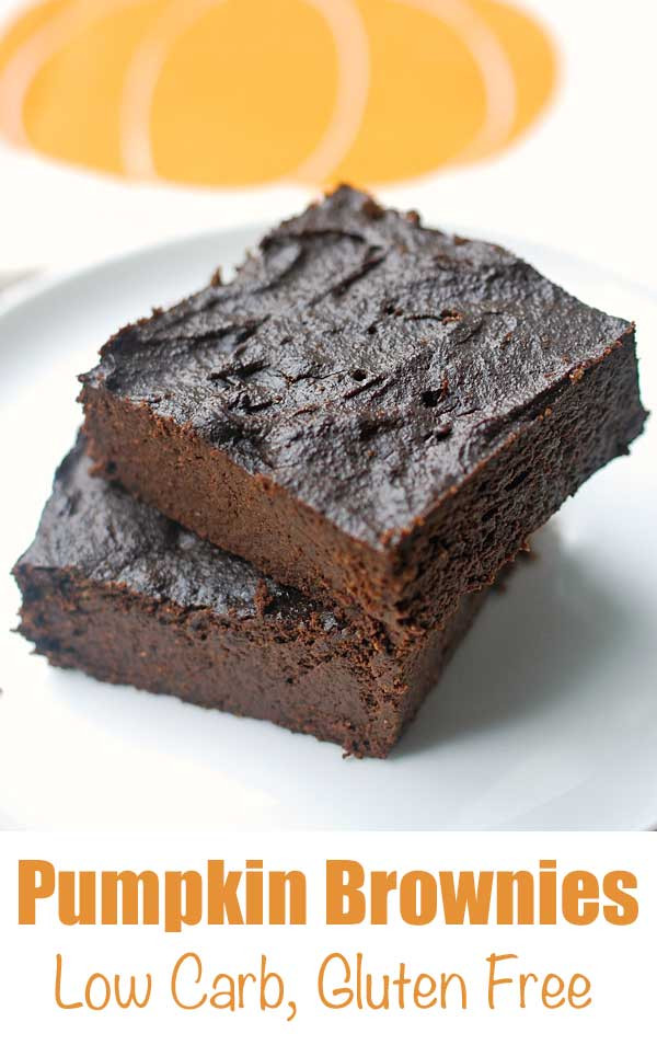 Healthy Brownies From Scratch  Pumpkin Brownies Healthy and Gluten Free VIDEO