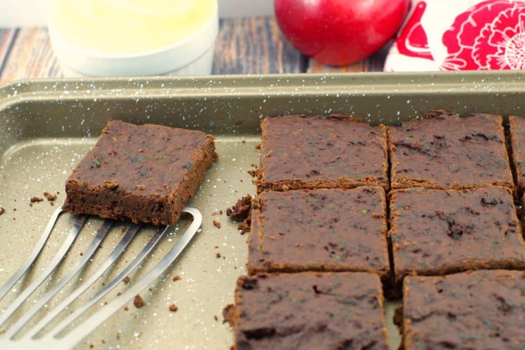 Healthy Brownies With Applesauce  Applesauce Spinach Brownies