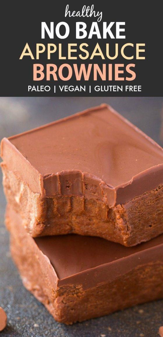 Healthy Brownies With Applesauce  20 Healthy Recipes Using Applesauce Paleo Vegan Gluten