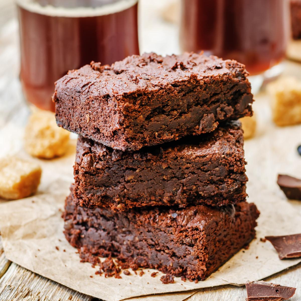Healthy Brownies With Applesauce  sugar free brownies with applesauce