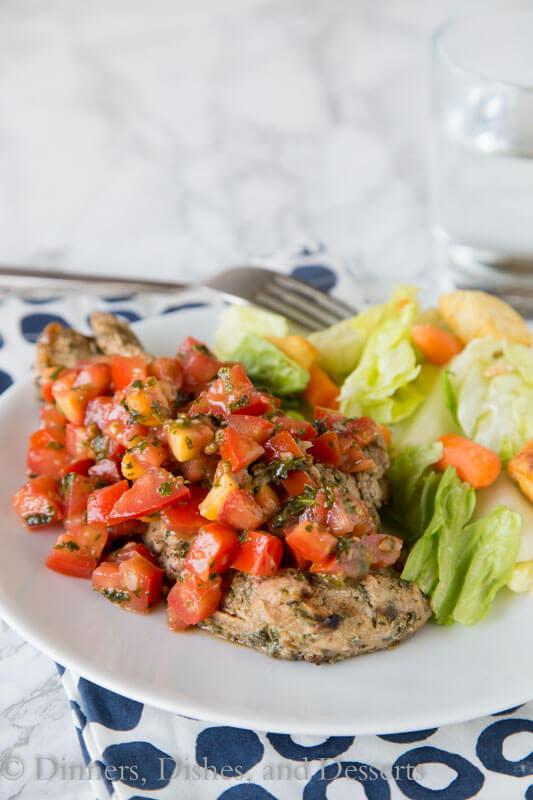 Healthy Bruschetta Chicken  Bruschetta Chicken Dinners Dishes and Desserts
