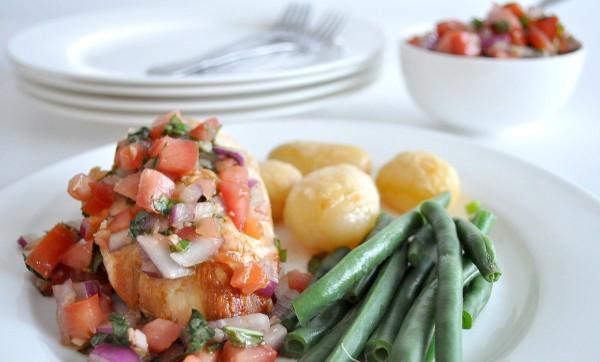 Healthy Bruschetta Chicken  Healthy Bruschetta Chicken The Organised Housewife