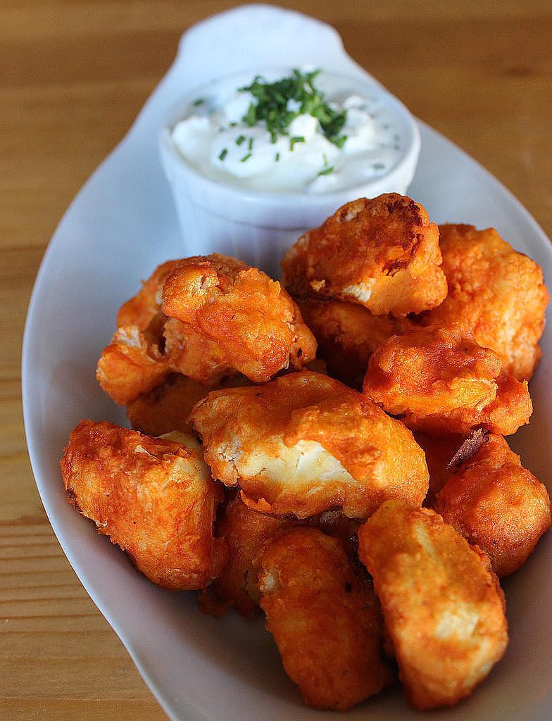 Healthy Buffalo Cauliflower  Healthy Sides and Salad Recipes For a Summer BBQ