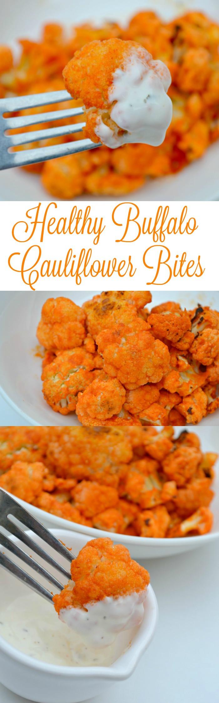 Healthy Buffalo Cauliflower  Healthy Buffalo Cauliflower Bites Recipe – Miss Frugal Mommy