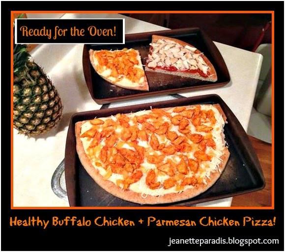 Healthy Buffalo Chicken Pizza  Kitchen Window Healthy Buffalo Chicken Pizza Chicken