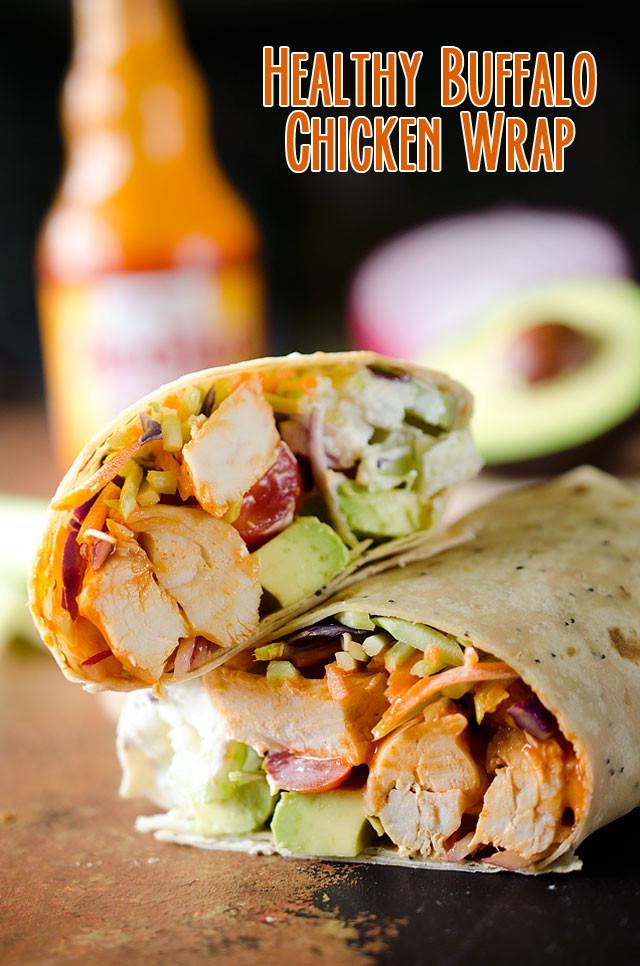 Healthy Buffalo Chicken Recipes  Healthy Buffalo Chicken Wrap