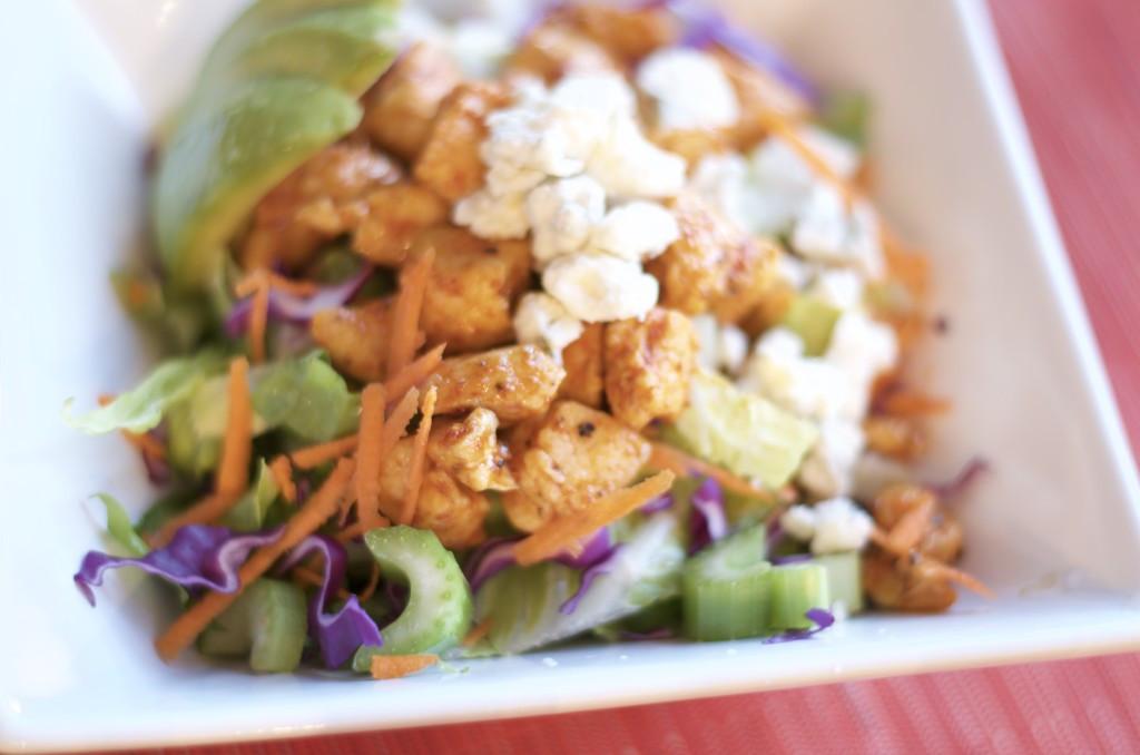 Healthy Buffalo Chicken Salad  Buffalo Chicken Salad Done Healthy