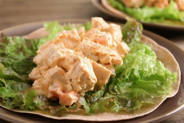 Healthy Buffalo Chicken Salad  Buffalo Chicken Salad