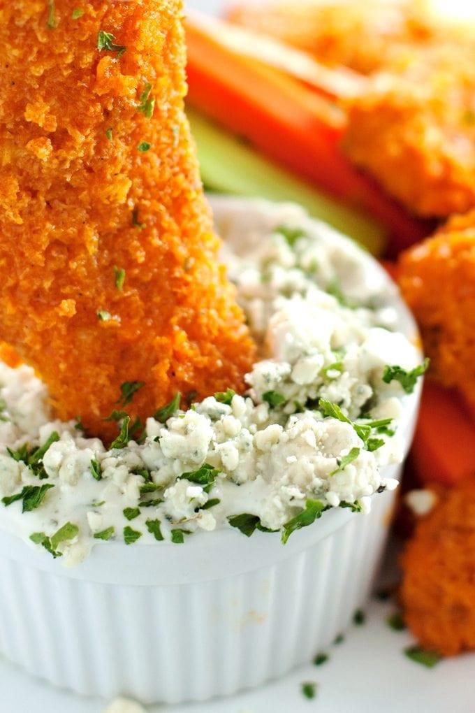 Healthy Buffalo Chicken Tenders  Healthy Crispy Oven Baked Buffalo Chicken Tenders 2teaspoons