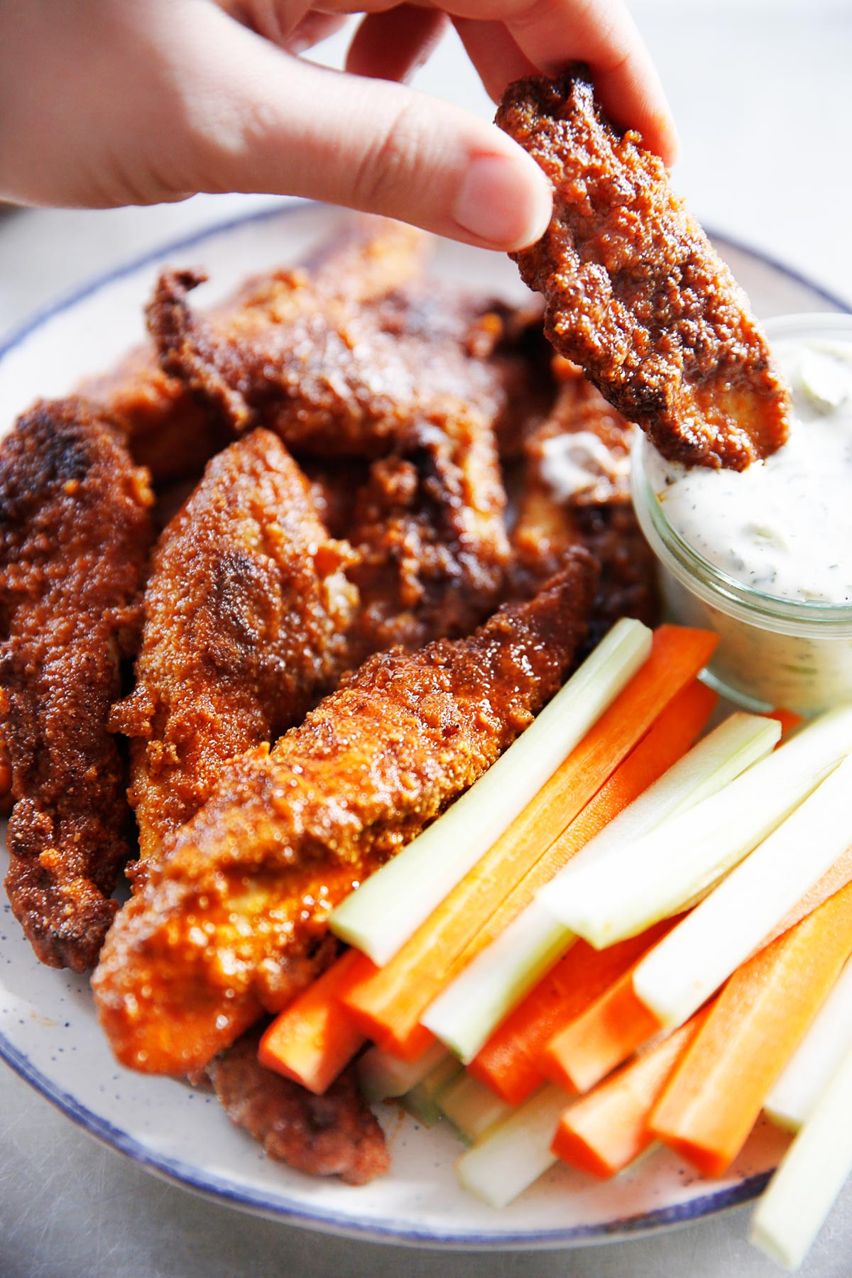 Healthy Buffalo Chicken Tenders  Buffalo Chicken Tenders Keto & Gluten Free Lexi s