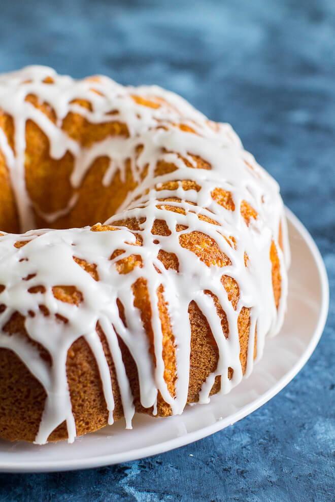 Healthy Bundt Cake Recipes  Lovely Lemon Bundt Cake