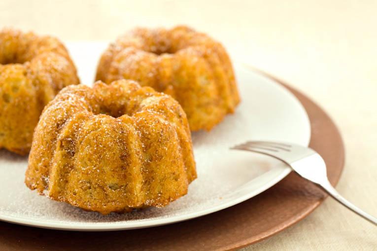 Healthy Bundt Cake Recipes  Easy Healthy Mini Banana Bundt Cakes The Picky Eater