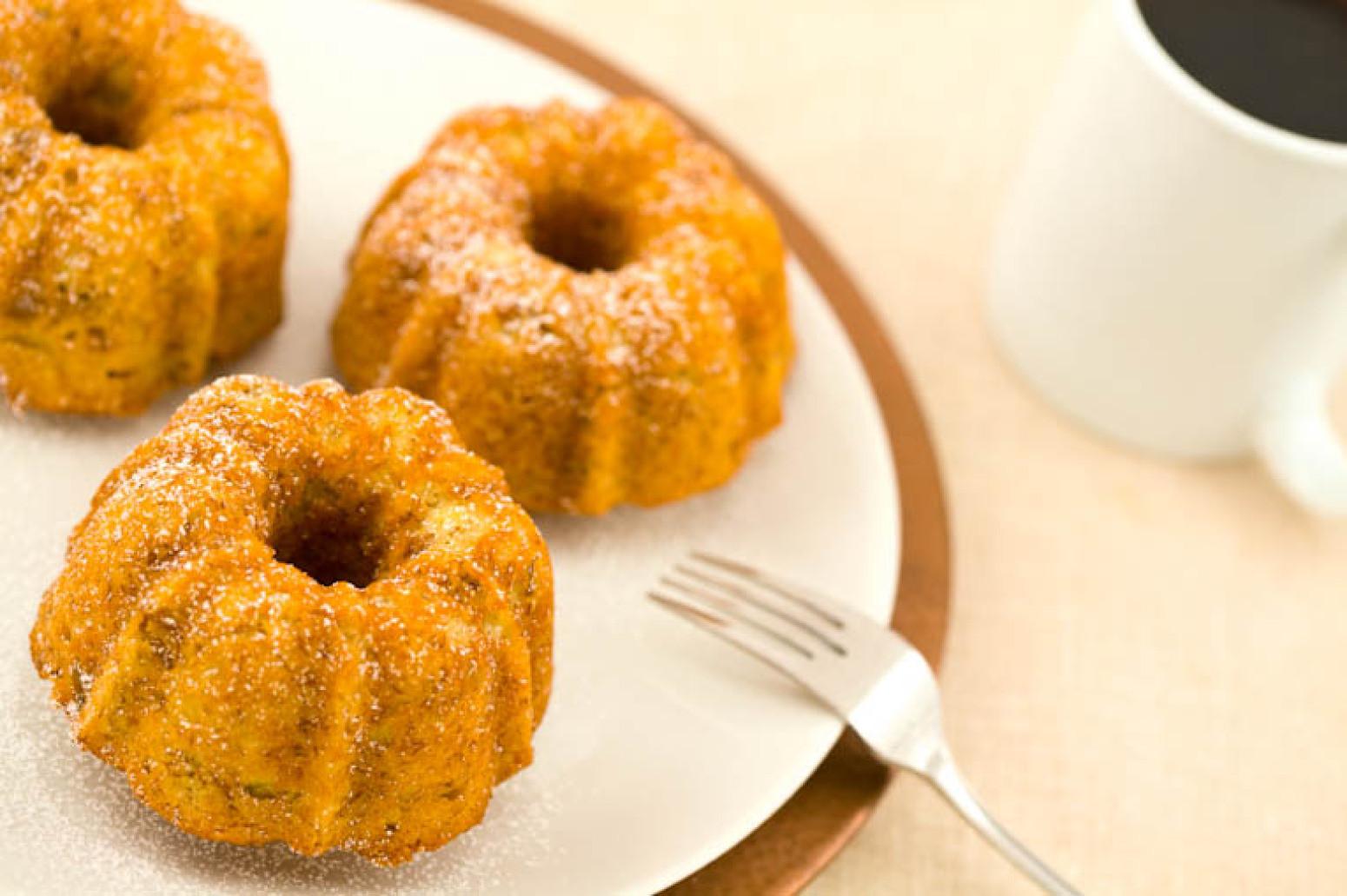 Healthy Bundt Cake Recipes  Easy Healthy Mini Banana Bundt Cakes Recipe
