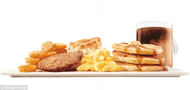 Healthy Burger King Breakfast 20 Best Ideas Worst Fast Food Breakfasts Revealed Including Burger King