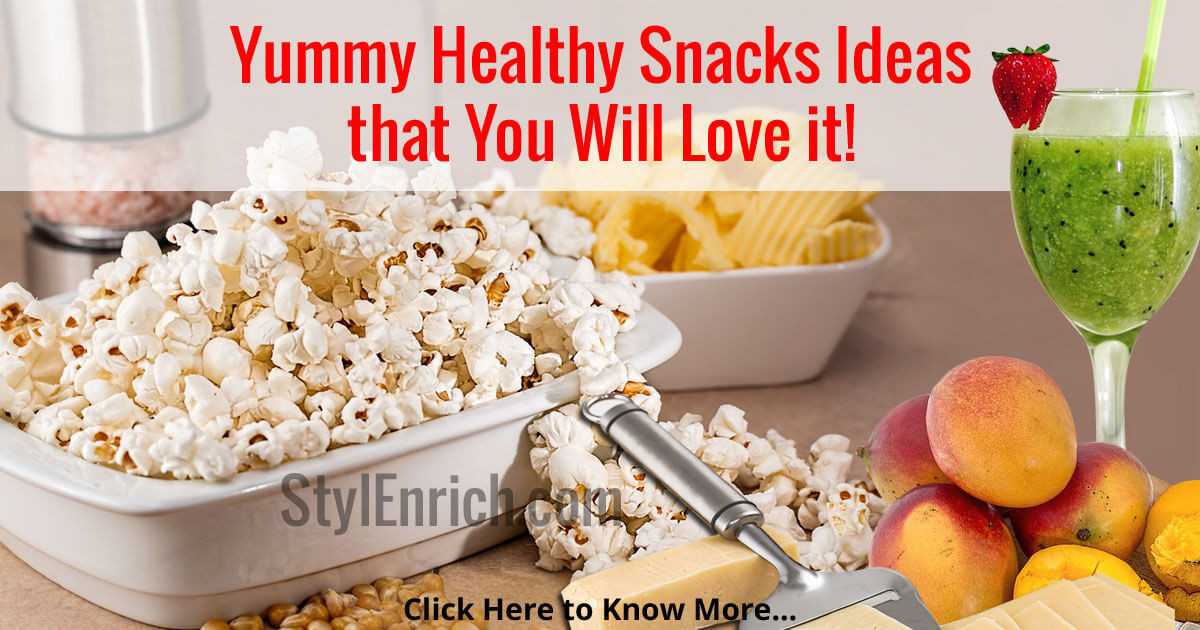 Healthy But Yummy Snacks  Healthy Snacks Ideas that You will Love it