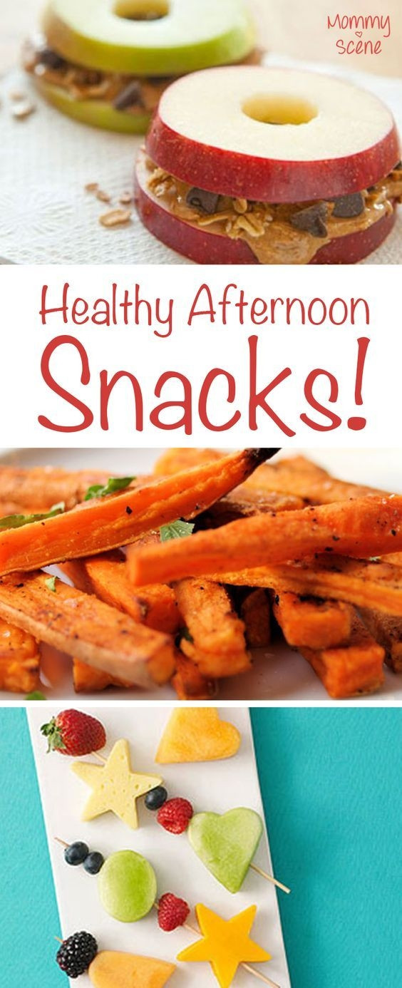 Healthy But Yummy Snacks  Yummy and healthy snack ideas for kids