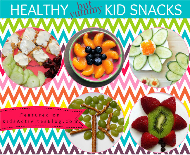 Healthy But Yummy Snacks  7 Yummy Healthy Snacks for Kids