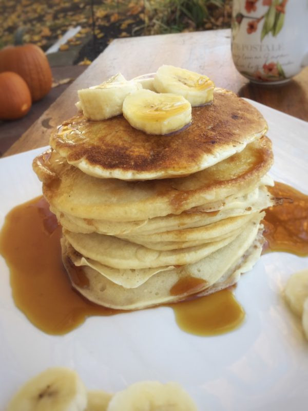 Healthy Buttermilk Pancakes  Vegan Buttermilk Pancakes My Healthy Homemade Life