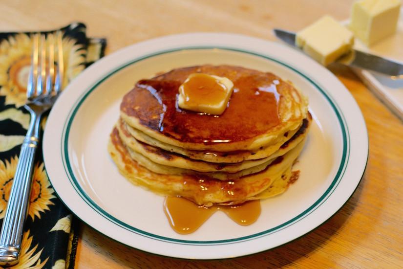Healthy Buttermilk Pancakes  Making Healthy Buttermilk Pancakes With Einkorn Flour