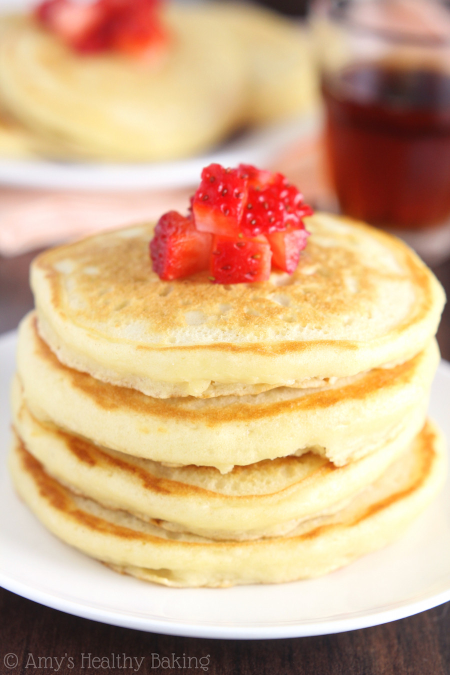 Healthy Buttermilk Pancakes  The Ultimate Healthy Buttermilk Pancakes