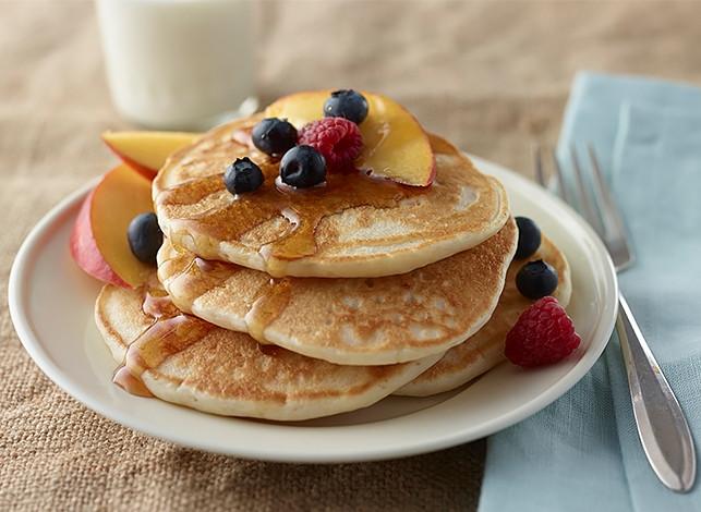 Healthy Buttermilk Pancakes  Heart Healthy Buttermilk Pancakes Mixes