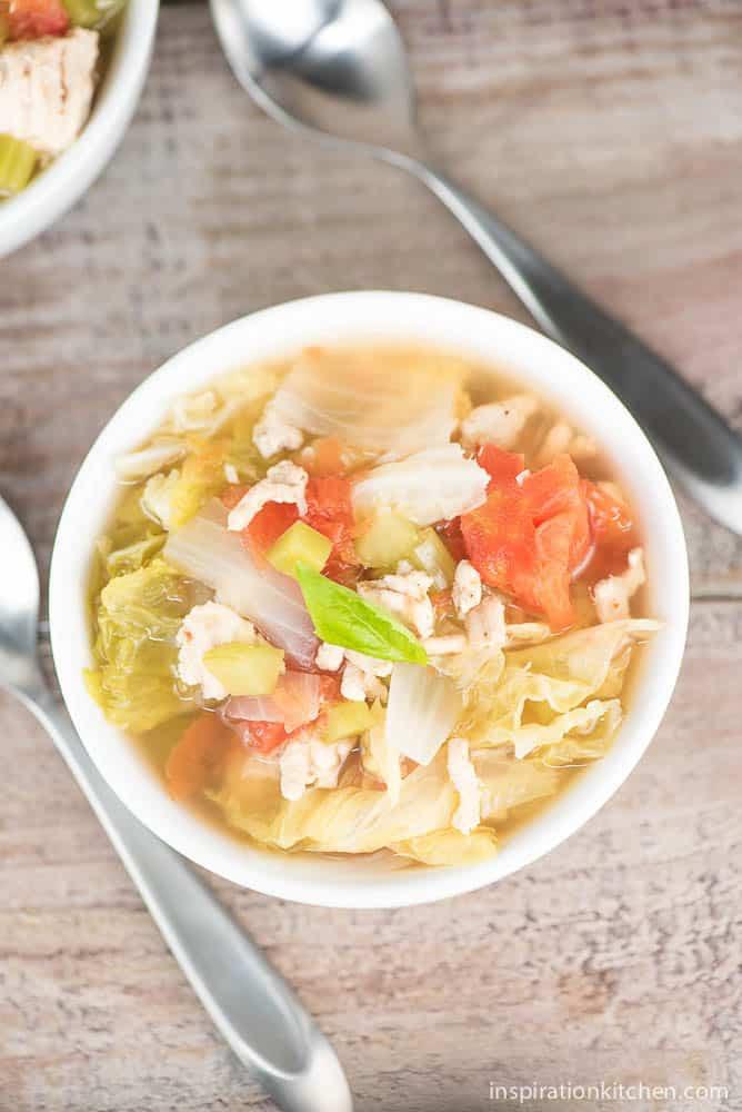 Healthy Cabbage Soup  Healthy Cabbage Soup