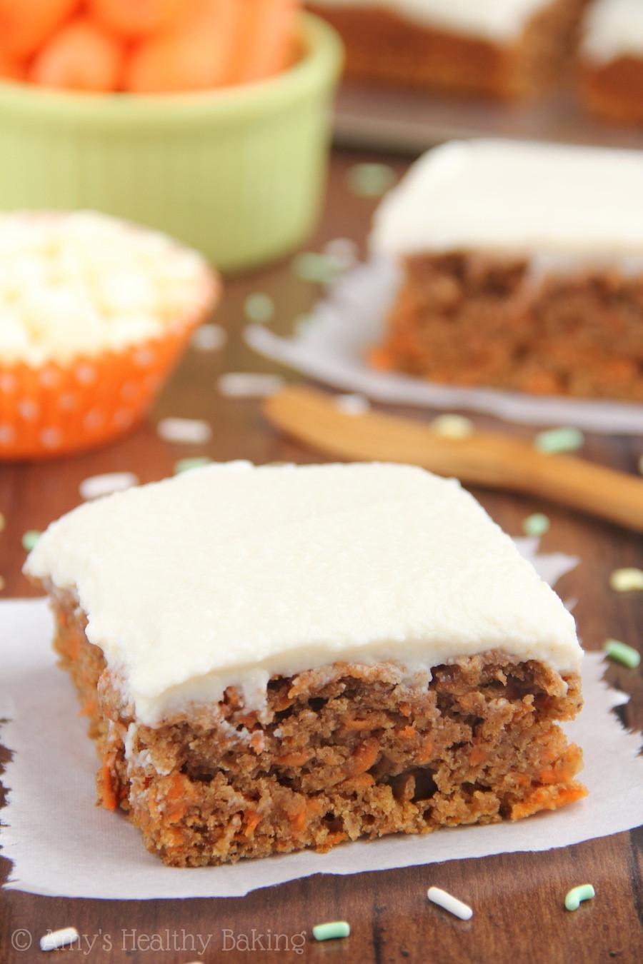 Healthy Cake Recipe  Classic Carrot Cake