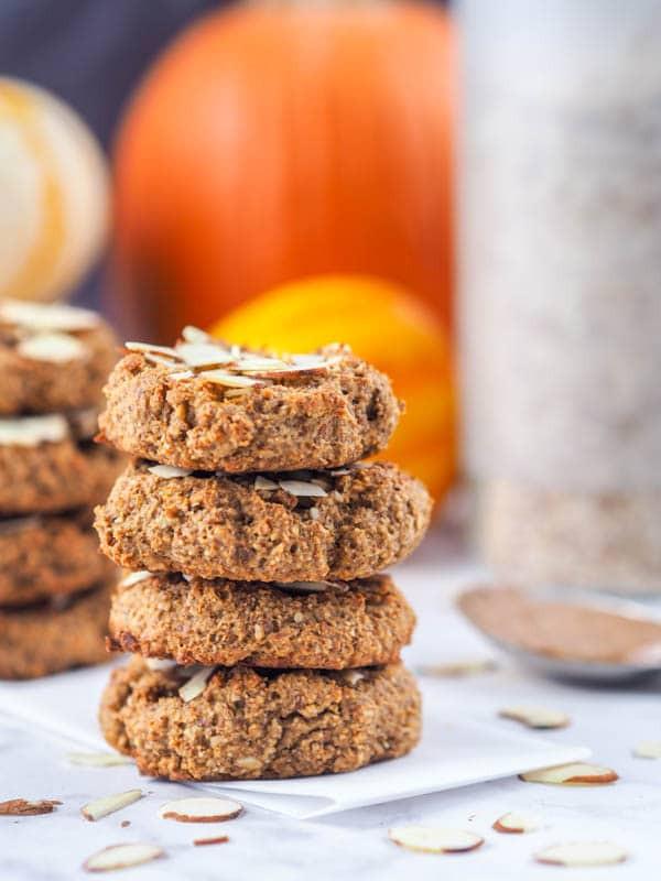 Healthy Canned Pumpkin Dessert Recipes  Healthy Pumpkin Cookies Recipe Vegan Gluten Free Dairy