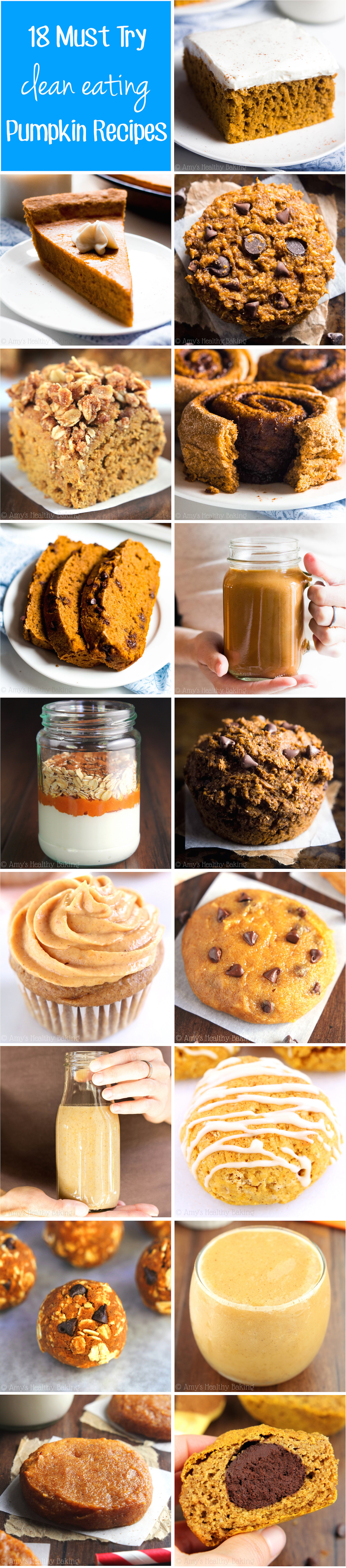 Healthy Canned Pumpkin Dessert Recipes  healthy canned pumpkin recipes
