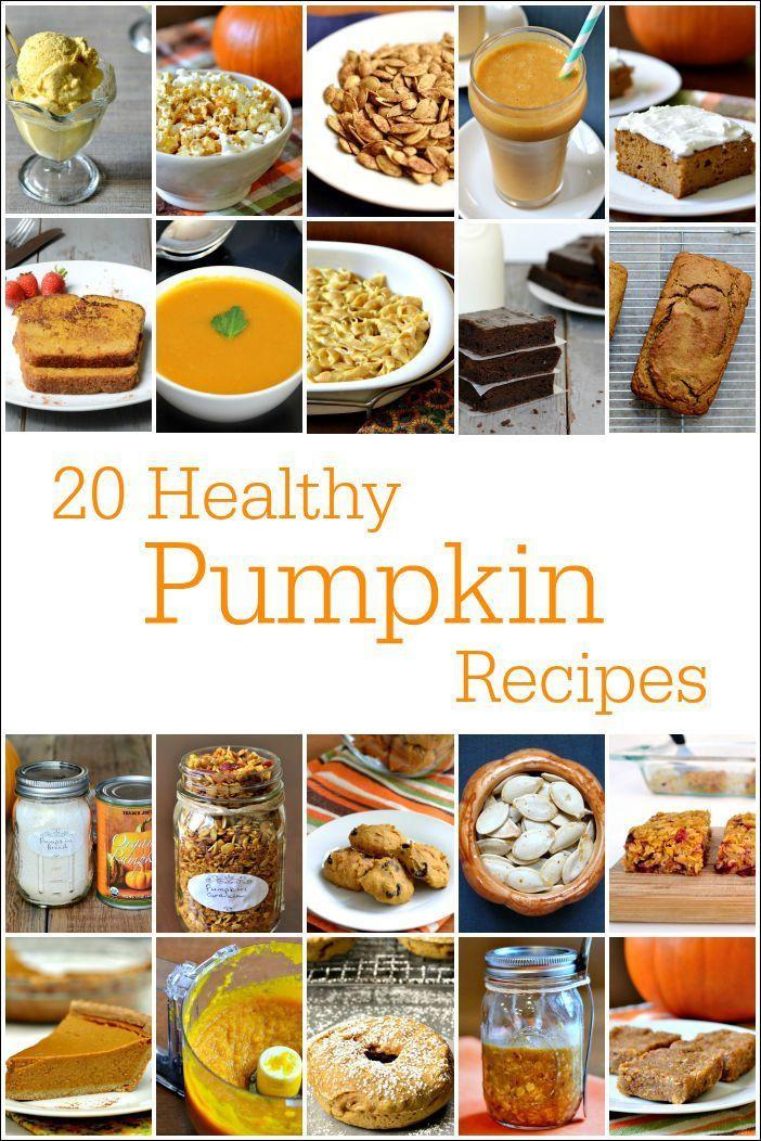 Healthy Canned Pumpkin Dessert Recipes  20 Healthy Pumpkin Recipes Desserts Snacks & Mains