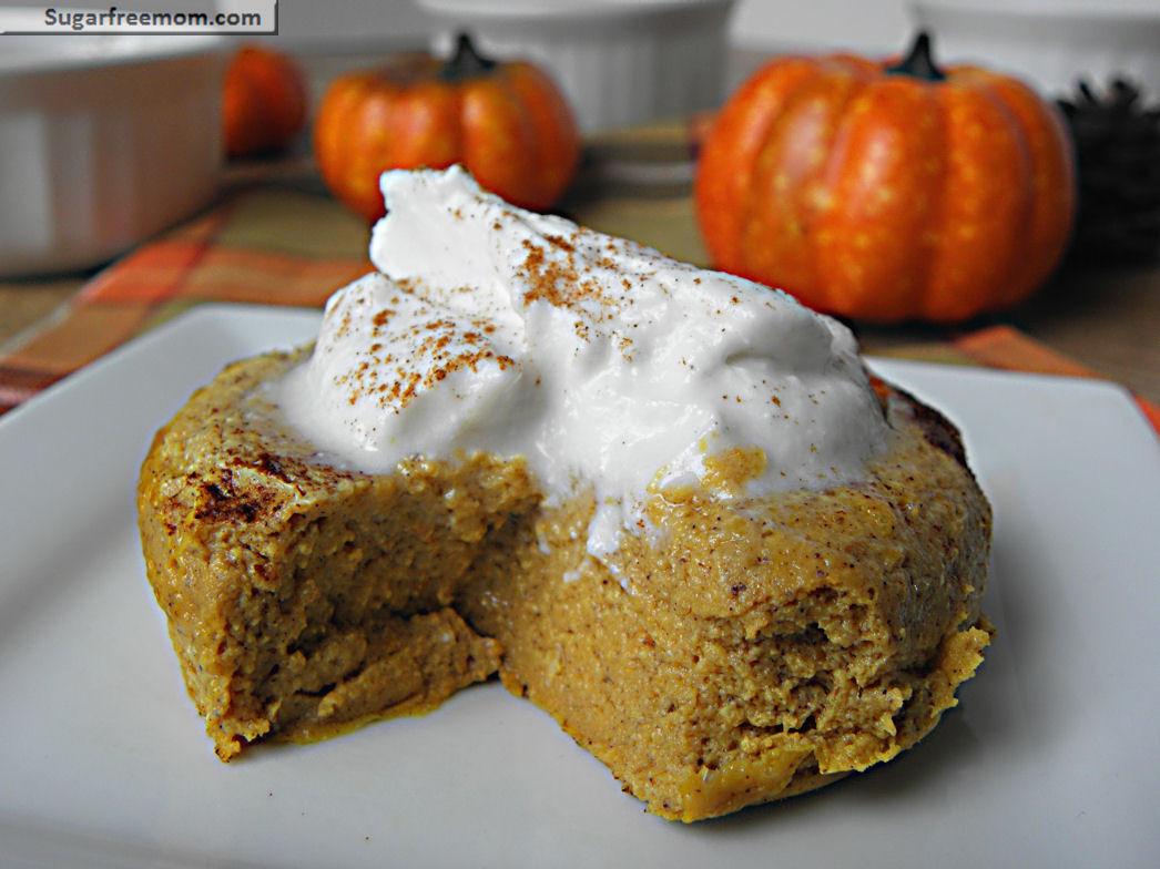 Healthy Canned Pumpkin Dessert Recipes  Healthy Pumpkin Pie Custard Gluten Free & Low Carb
