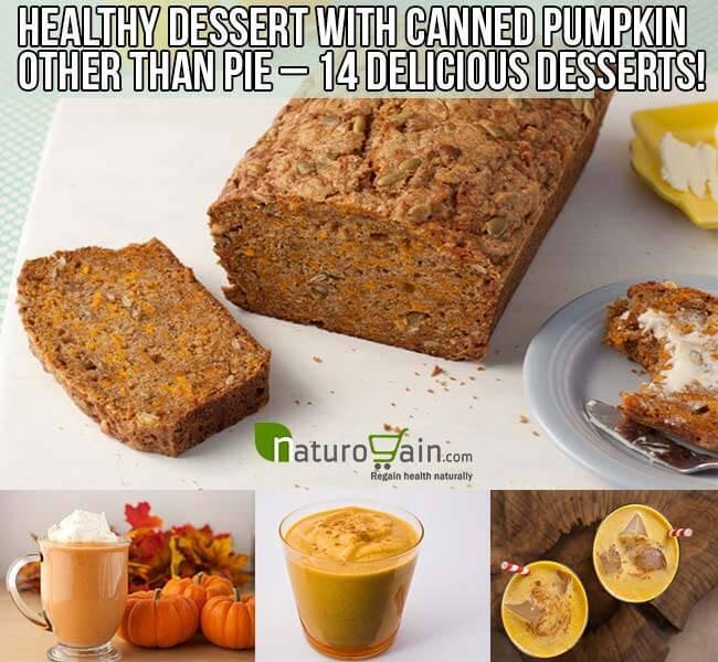 Healthy Canned Pumpkin Dessert Recipes  Healthy Dessert With Canned Pumpkin Other Than Pie – 14