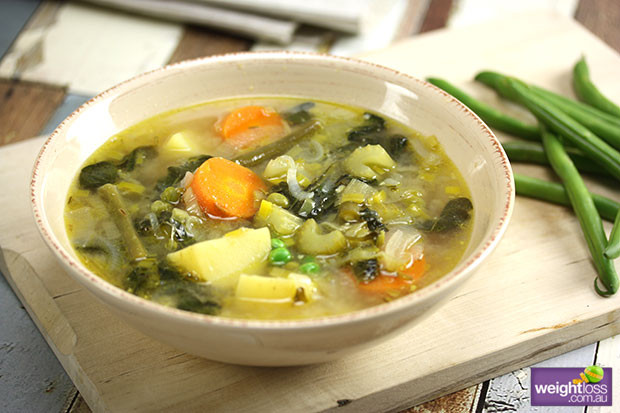 Healthy Canned Soups For Weight Loss  Spring Ve able Soup