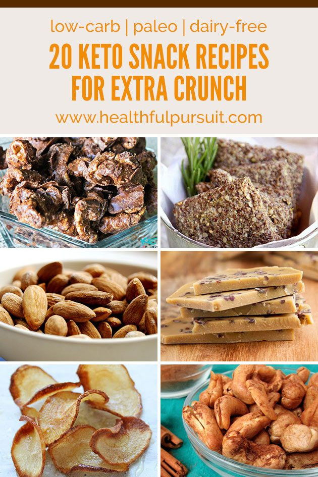 Healthy Carb Free Snacks  Keto Snack Recipes for Extra CRUNCH Without the Carbs low