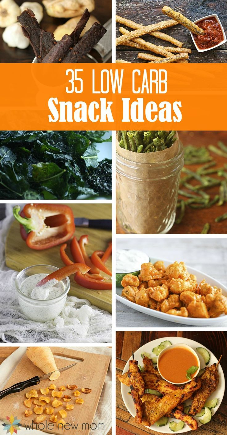 Healthy Carb Free Snacks  25 best Low carb snack ideas on Pinterest