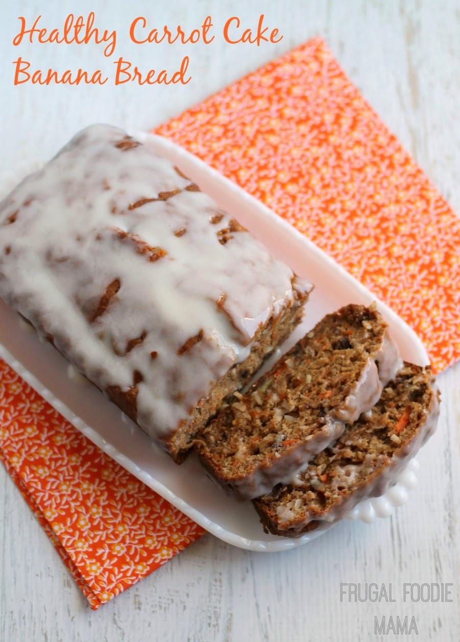 Healthy Carrot Bread  Frugal Foo Mama Healthy Carrot Cake Banana Bread