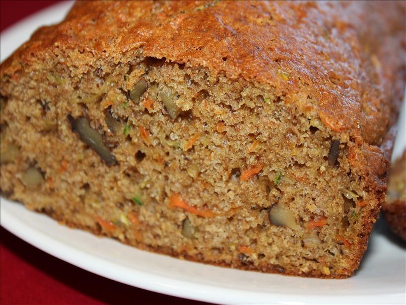 Healthy Carrot Bread  Zucchini Carrot Bread Busy Mom Recipes