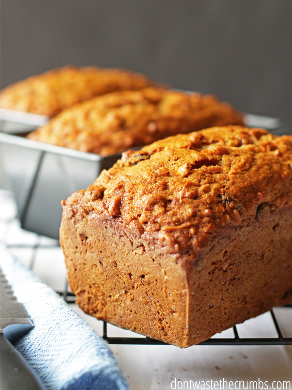 Healthy Carrot Bread  Healthy Meal Ideas for Fall