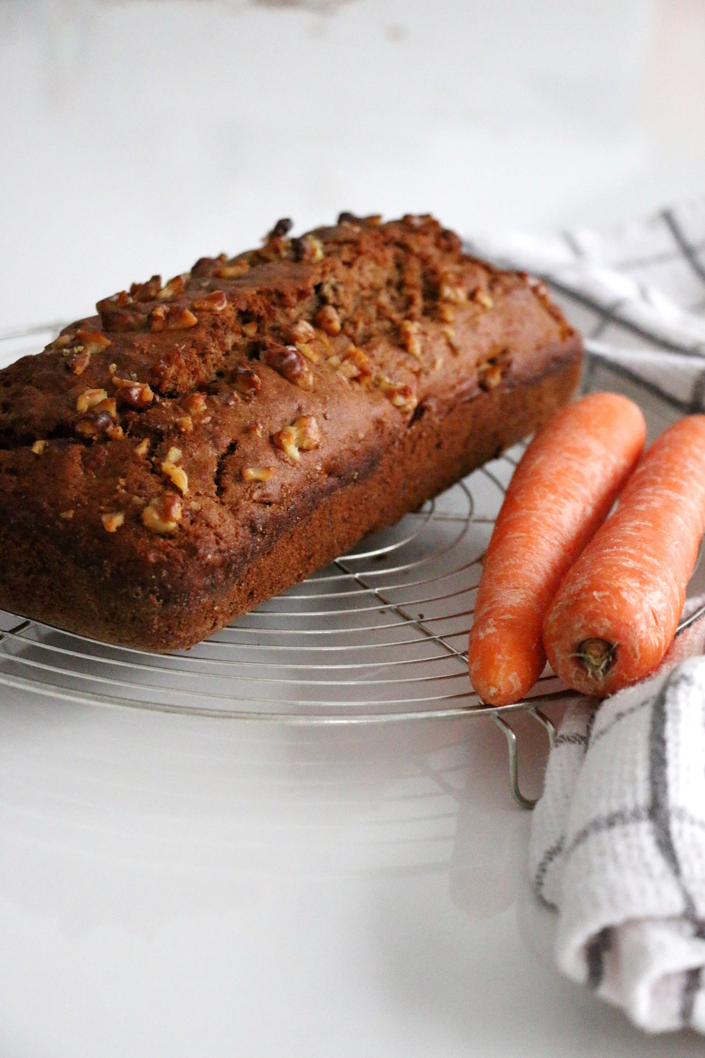 Healthy Carrot Bread  healthy carrot walnut bread – Savormania