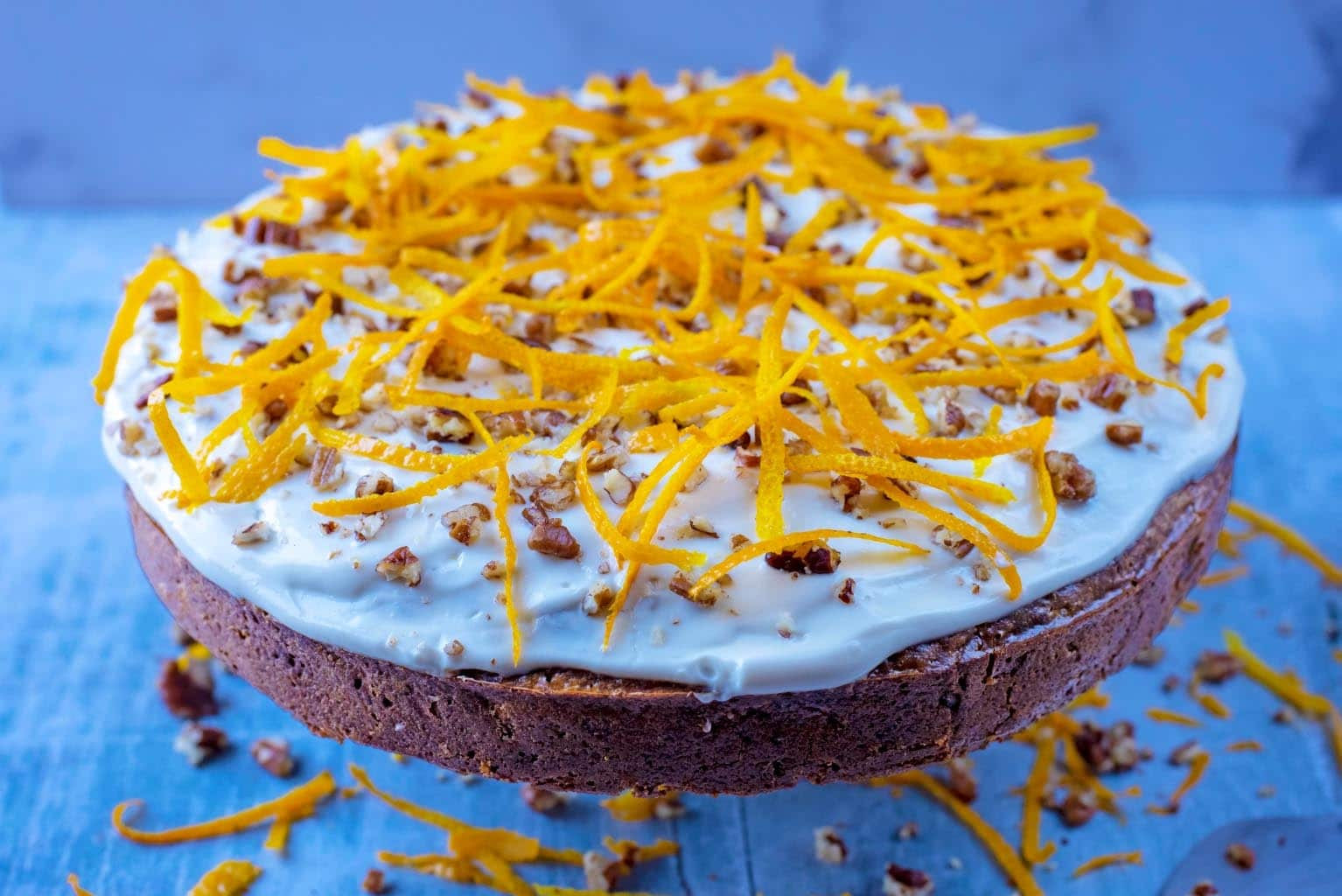 Healthy Carrot Cake  Healthy Carrot Cake Hungry Healthy Happy